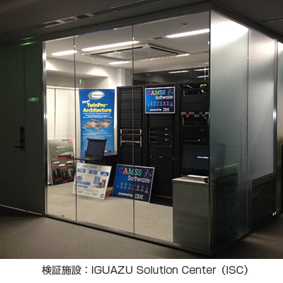 検証施設:IGUAZU Solution Center(ISC)